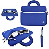 KOZMICC 15 - 15.6 ' Laptop Sleeve Portable Case Bag Handle Pouch Cover for Apple Macbook, Dell, HP, Lenovo, Samsung
