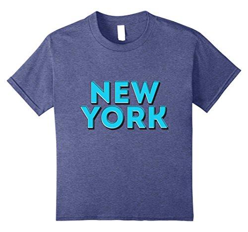 Kids New York City NYC Souvenir Unisex T-shirt 8 Heather - York Broadway City New Avenue