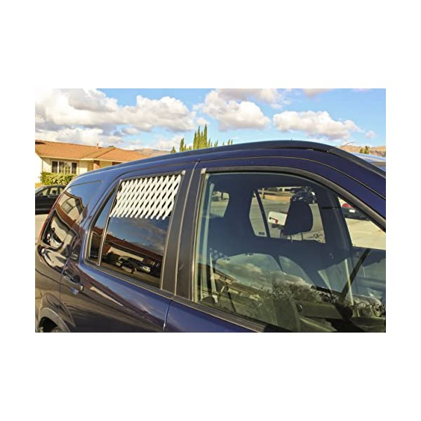 (Extra Large, White) – Car & Truck Window Pet Gate Click on image for further info. 5