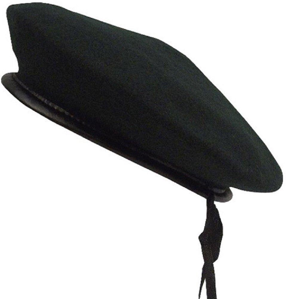 Rothco Monty Beret Size XLarge Black Wool