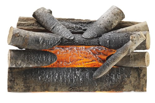 Pleasant Hearth 20quot Electric Crackling Natural Wood Log