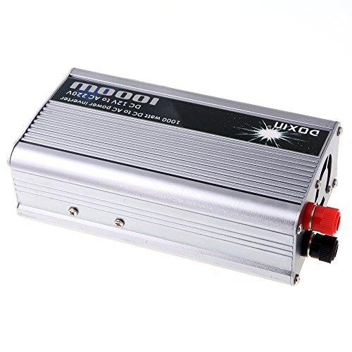 KKMOON 1000W WATT DC 12V auf AC 220V Portable Auto Wechselrichter Ladegerät Konverter Leistungstransformator