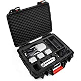 Lekufee Professional Waterproof Suitcase for DJI Mavic 2,Portable Hard Case for DJI Mavic 2 Pro/Mavic 2 Zoom/Mavic 2 Enterprise Drone Fly More Combo(Can Hold 5 Batteries)