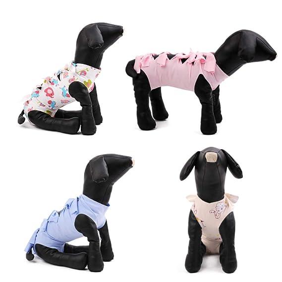 Youliy - Traje de recuperación para mascotas, esterilización ...