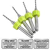"""HOHXEN Tungsten Micro Drill Bits 1/8"""" Shank TOY"""