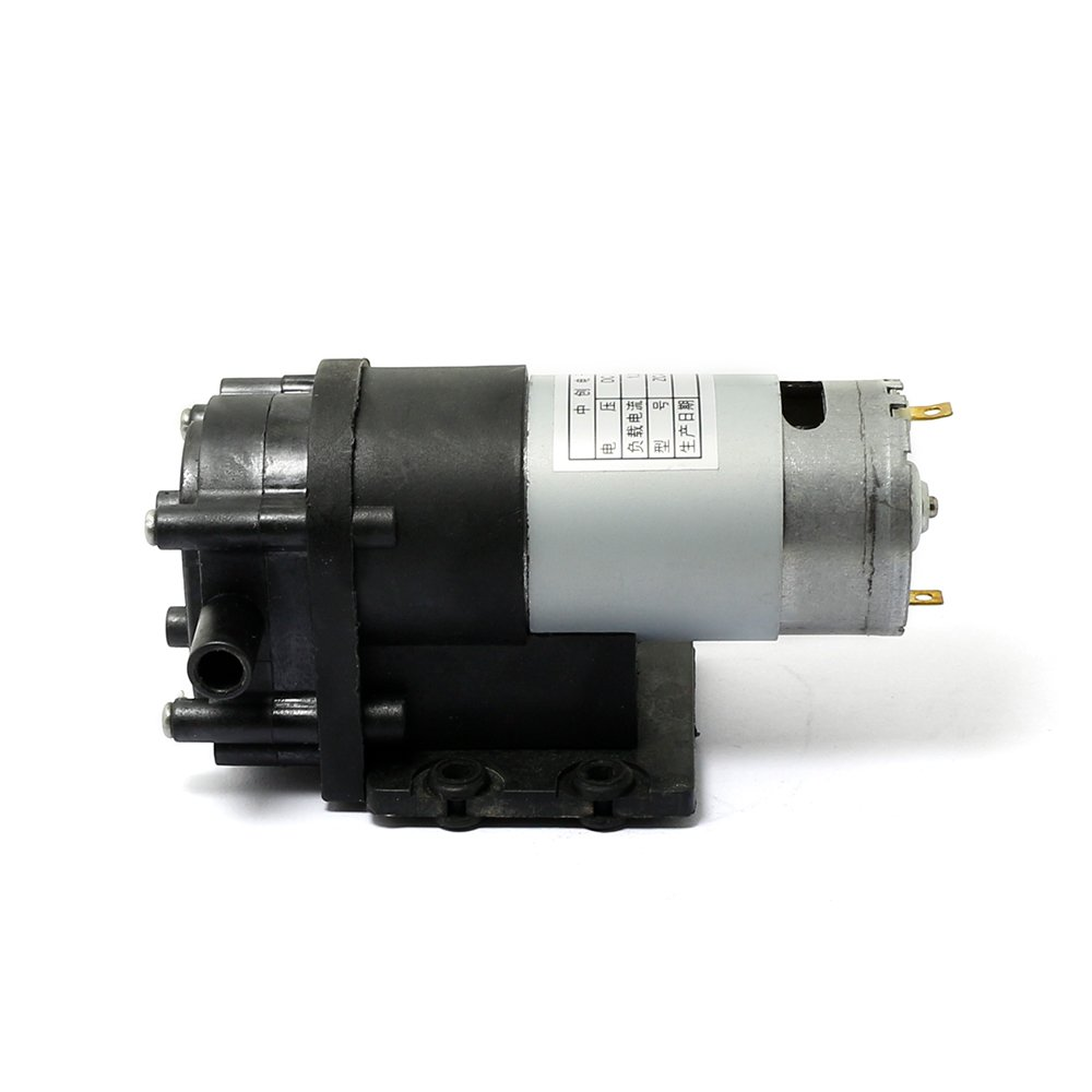 ZC-520-12V 12v DC Self-priming Pump Hot Water Circulation Water Oil Well Pump 18m Head BLASER