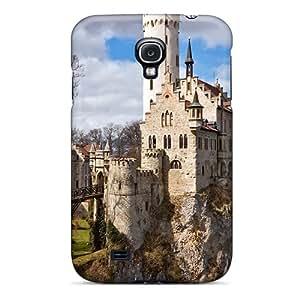 Faddish Phone Liechtenstein Castle Case For Galaxy S4 / Perfect Case Cover