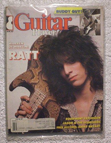 - Warren De Martini - Ratt - Guitar Player Magazine - April 1987