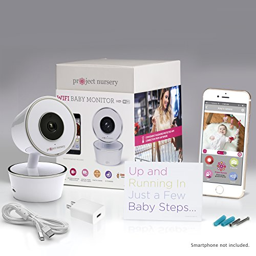 Project Nursery Hd Wifi Video Baby Monitor System With