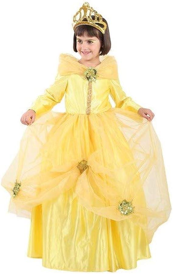 Disfraces FCR - Disfraz princesa bella talla 4: Amazon.es: Ropa y ...