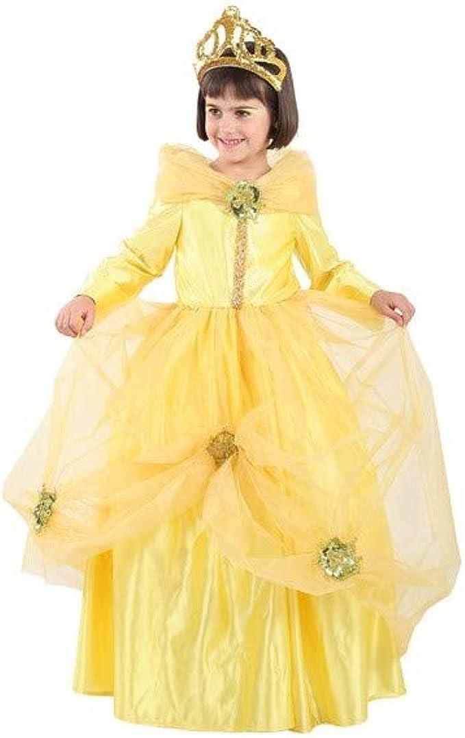 Disfraces FCR - Disfraz princesa bella talla 8: Amazon.es: Ropa y ...