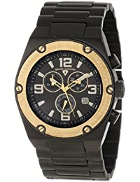 Mens 40025P-BB-11-GB Throttle Chronograph Black Dial Watch