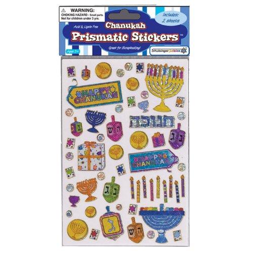 (Prismatic Hanukkah Sticker Sheets)