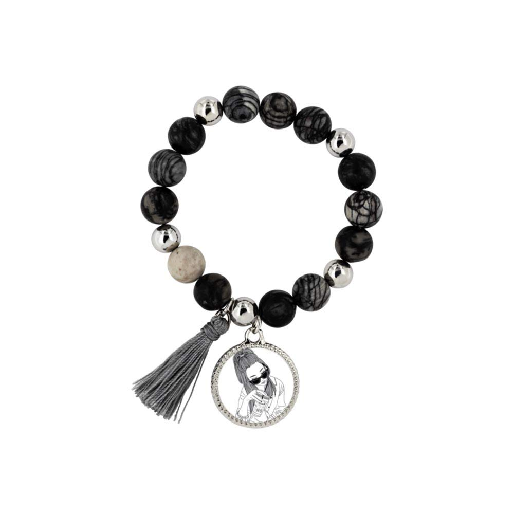 Charms for Women Cool Girl for Mother Mia Rita Woman Bracelet Wife Birthday Gift Bracelets Gift for Best Friends
