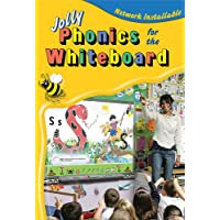 Jolly Phonics for the Whiteboard (site licence): in Precursive Letters (British English edition)