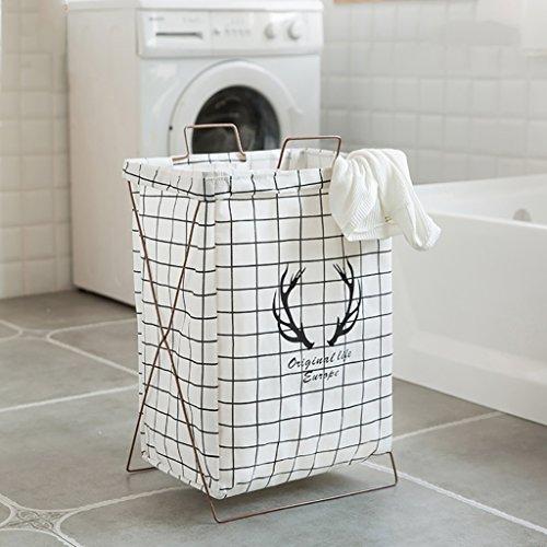 ZHANGLIXIANG YHX Cesta Plegable portátil del lavadero del Almacenamiento de Ropa del Dormitorio (28 * 38 * 55cm) (Color :...