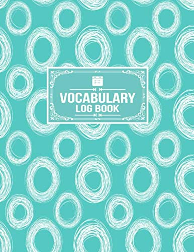 Vocabulary Log Book: Word Origin Translation Meaning Tracker Notebook]()