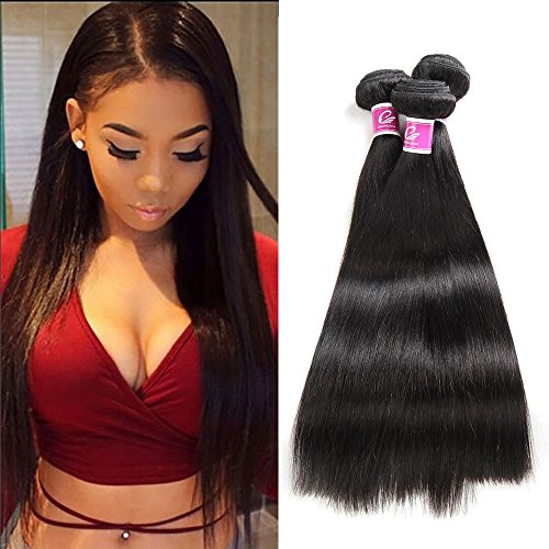 Cheap Colorful Queen Brazilian Virgin Hair Straight Remy Human Hair 4 Bundles Weaves 7A Unprocessed Hair Extensions Natural Color 8 10 12 14Inch