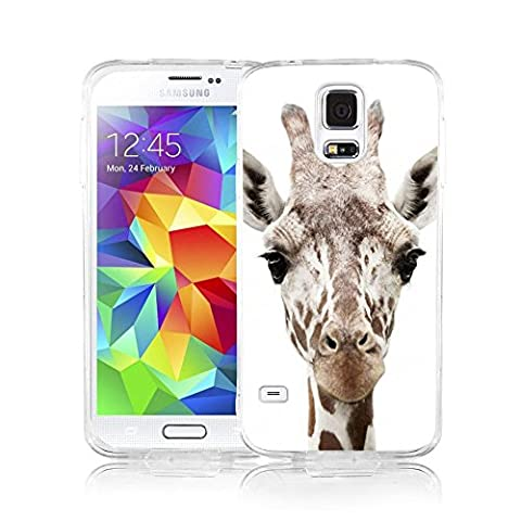 Galaxy S5 Case Viwell Samsung Galaxy S5 Case 2015 Personality Abstract Cool Giraffe Head (Snoopy S5 Case)