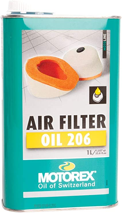 ACEITE PARA FILTRO DE AIRE MOTOREX AIR FILTER OIL 206: Amazon.es ...