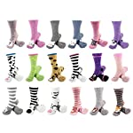 BambooMN-Super-Soft-Warm-Cute-Animal-Face-Non-Slip-Fuzzy-Crew-Winter-Home-Socks-Value-Pack