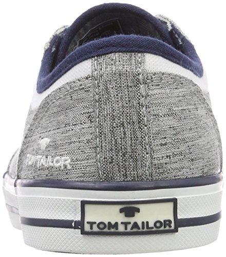 TOM TAILOR 4880803, Náuticos Para Hombre Gris