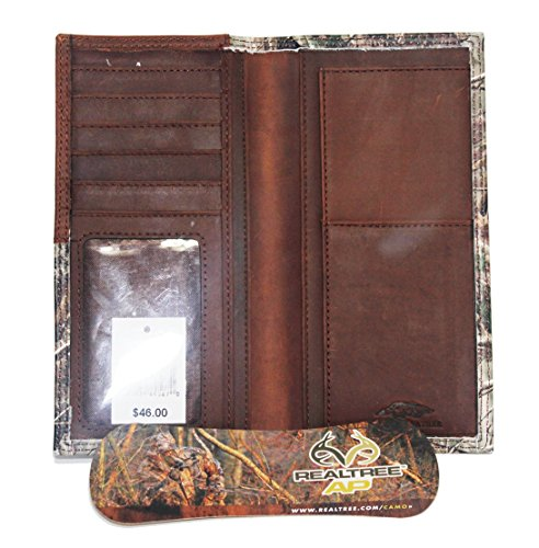 AP Checkbook Camo 12 Realtree Wallet Custom Belt Long Long 3D Company Gauge qFSTF1