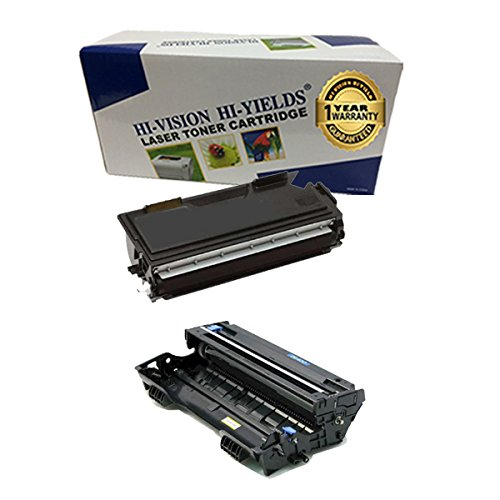 (HI-VISION® Compatible Brother TN460 + DR400 Toner and Drum Unit Replacement for DCP-1200,1400,HL-1230,1240,1250,1270N,1435,1440,1450,1470N,IntelliFax-4100,IntelliFax-4100e)