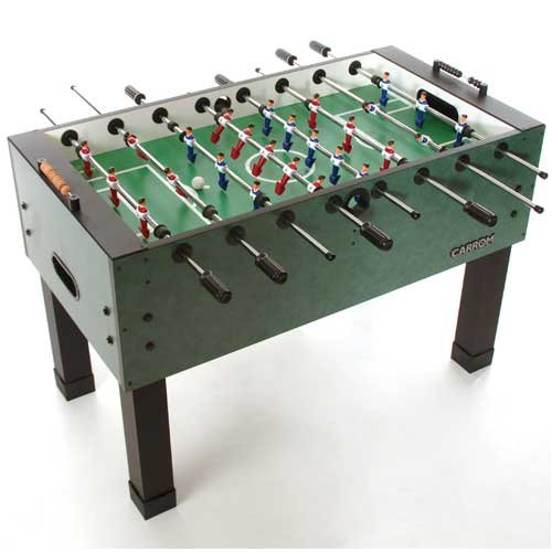 Carroon foosball tables