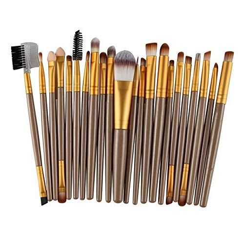 6bb7aff58efe Kaputar 22PCS Pro Kabuki Make up Brushes Set Makeup Foundation Blusher Face  Powder Brush | Model MKPBRSH - 991 | 22Pcs Gold A