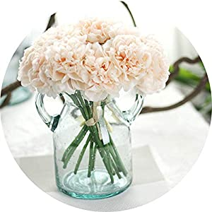 vibe-pleasure 1 Bouquet 5 Head Wedding Artificial Peony Hydrangea Flower Home Wedding Party Birthday New Year Valentines Day Floral Decor 83