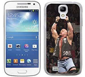 WWE Wrestling Stone Cold cas adapte Samsung Galaxy S4 I9500 couverture coque rigide de protection (2) mobile phone case cover Steve Austin