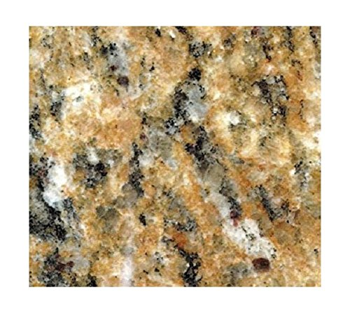 EZ FAUX DECOR Instant Venetian Gold/Santa Cecilia Marble Granite Countertop Film Self Adhesive Vinyl Laminate Counter Top Peel and Stick NOT Contact Paper 36quot x 72quot