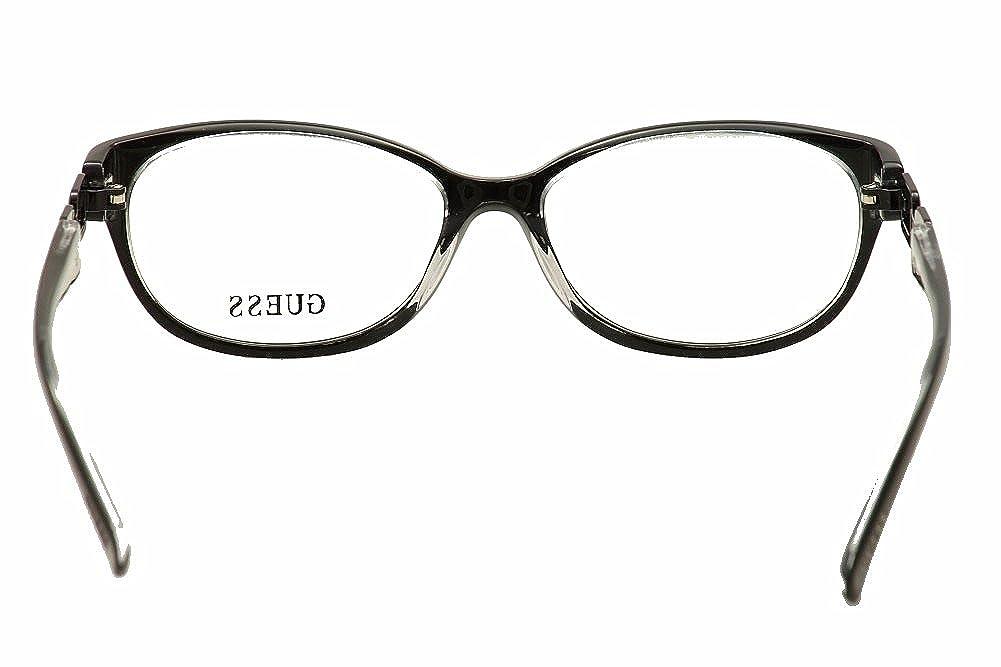 GUESS Eyeglasses GU 2407 Black Clear 53MM