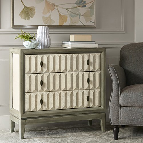 Madison Park Arden 3 drawer chest Sage/Cream See - 3 Madison Drawer