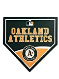 "Oakland Athletics MLB 9.25""x9.25"" Home Plate Street Sign"