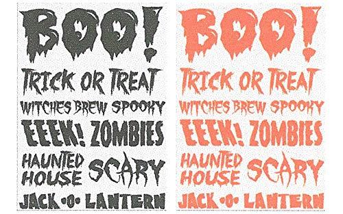 Little B 100759 Rub Ons, Boo Halloween