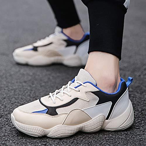 Na-Zh Men's Turnschuhe Casual Schuhe Netzrot mit den Alten Schuhen Dicker Boden