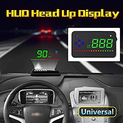 Amazon.es: GPS HUD Digital Head Up Display Coche Camión ...