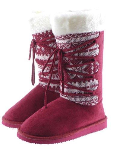 ec1bfbf236be Ladies Fashion Fake Fur Boots (WST9)