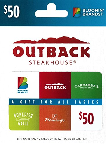 Bloomin' Brands $50 Gift Card - How Return To Card A Gift