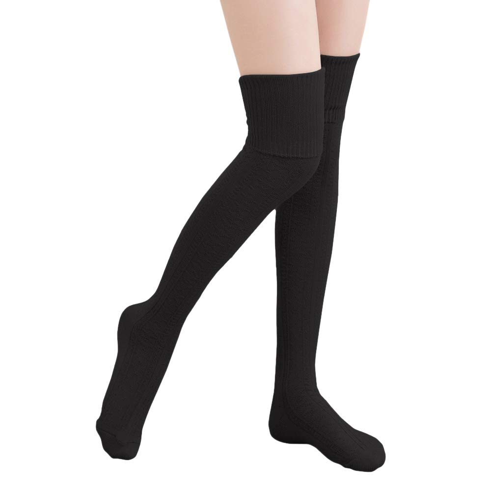 1e60c02a506b8 Specially made for these luxurious knee high socks are perfect with boots  for spring,fall or winter. The crochet knit boot socks are long enough to  be thigh ...