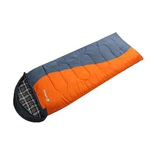 MISS&YG Sacco a Pelo con Busta Calda e Leggera-con Un Sacchetto di Compressione Adatto per Viaggi, Campeggio, Escursioni, attività Indoor ed Outdoor