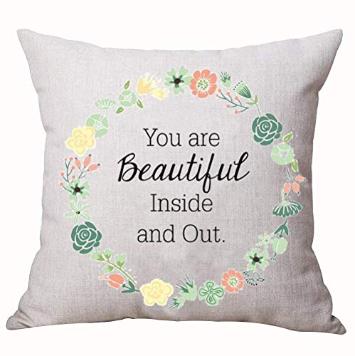 Best Gift Nordic Funny Sweet Warm Inspirational Sayings You Are Beautiful...