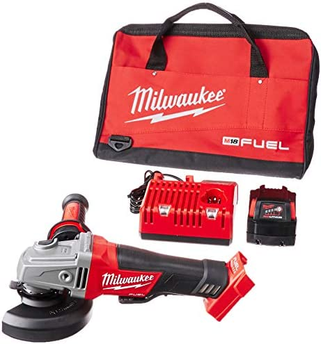 Milwaukee 2780-21 M18 FUEL 4-1 2 5 PAD,1 Battery KIT