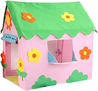 LZNK Tienda de campaña Infantil para niños Tienda de Dibujos Animados para niños casa de Juegos Wigwam Tipi Juego casa de Tul Bola Piscina Castillo Carpa: Amazon.es: Jardín