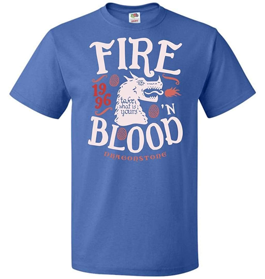 House of Dragons Unisex T-Shirt Adult Pop Culture Graphic Tee Nerdy Geeky Apparel