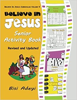 Believe In Jesus Senior Activity Book (Believe In Jesus