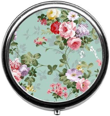 BeeGogo Vintage Floral Medicine Organizer product image