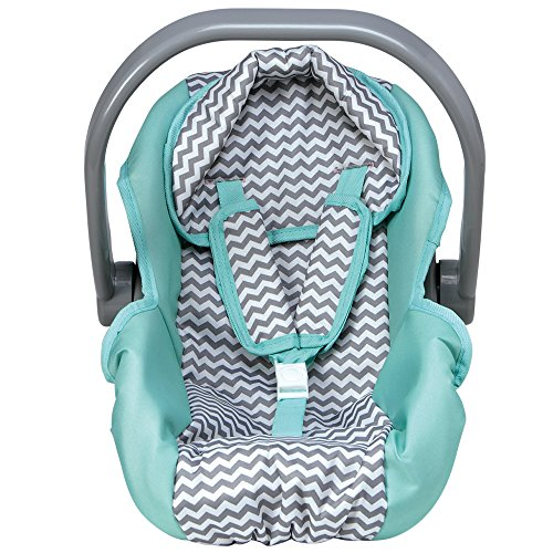 Adora Zig Zag Car Seat Carrier Accessory for Dolls and Stuffed Animals, Perfect for Kids 3+ - Learn Car Carrier